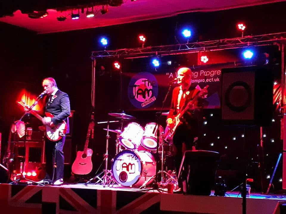 Leigh Rock – The Jam tribute night – 20 July 2018
