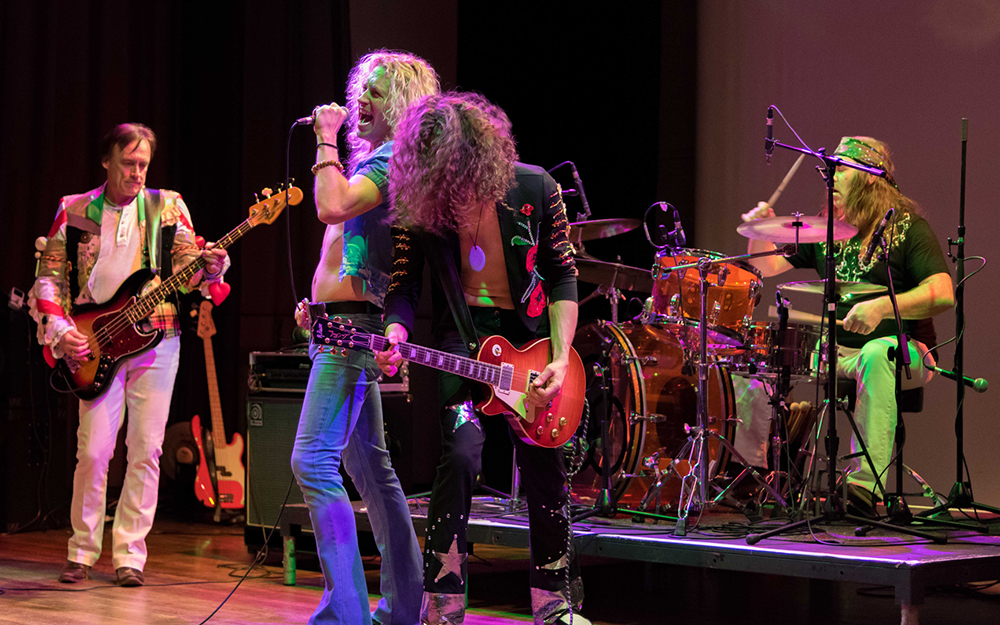 Leigh Rock - Led Zeppelin tribute night
